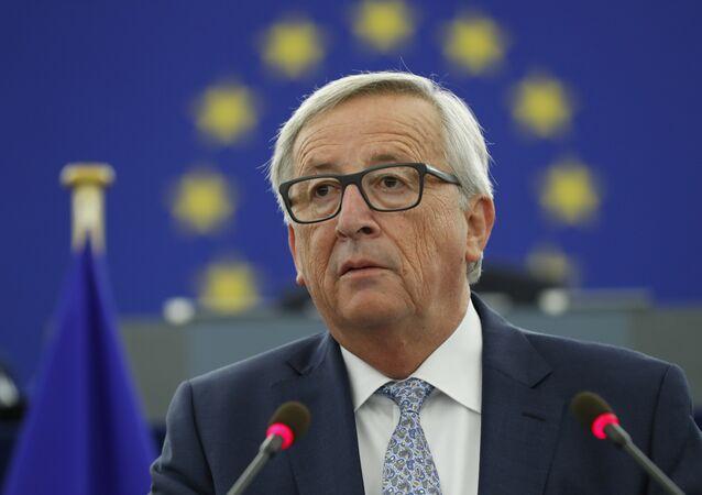 AB Komisyonu Başkanı Jean-Claude Juncker, Birliğin Durumu konuşması
