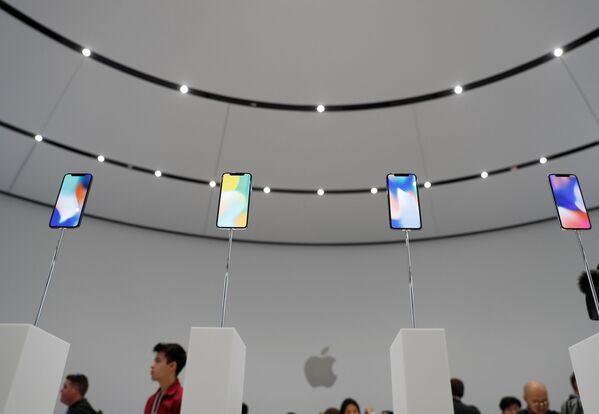 Apple, 3 yeni iPhone modeli tanıttı - Sputnik Türkiye