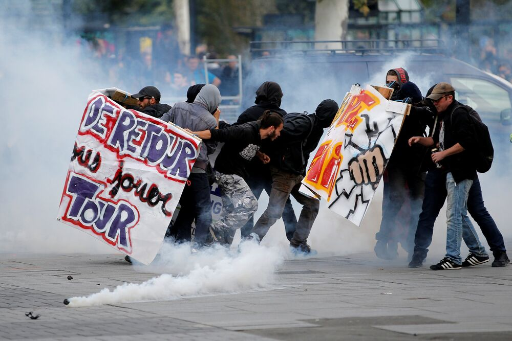 Fransa - Protesto
