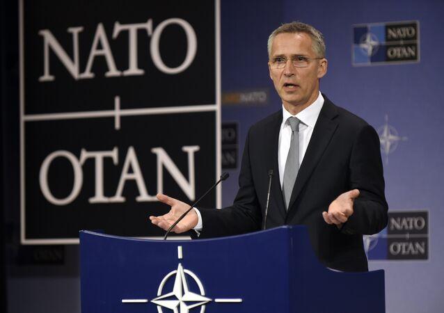 NATO Genel Sektereti Jens Stoltenberg