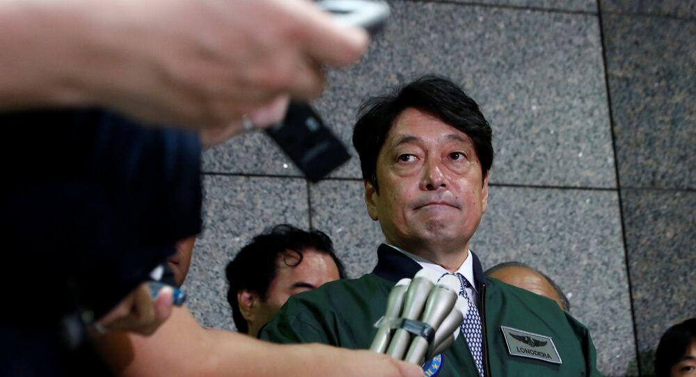 Japonya Savunma Bakanı Itsunori Onodera