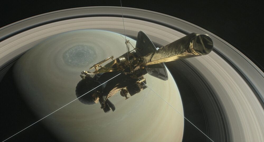 Cassini uzay aracı Satürn'e nihai dalışını gerçekleştirdi