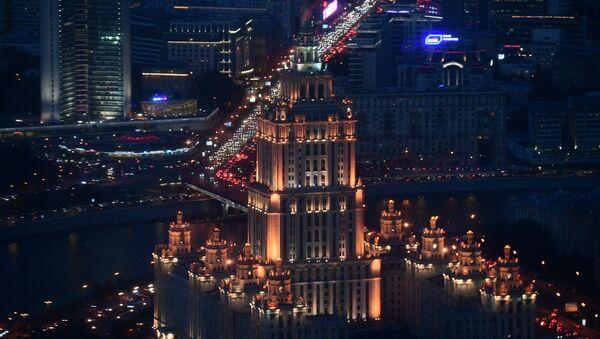 Moskova'da inşa edilen Avrupa'nın en yüksek seyir terası  - Sputnik Türkiye