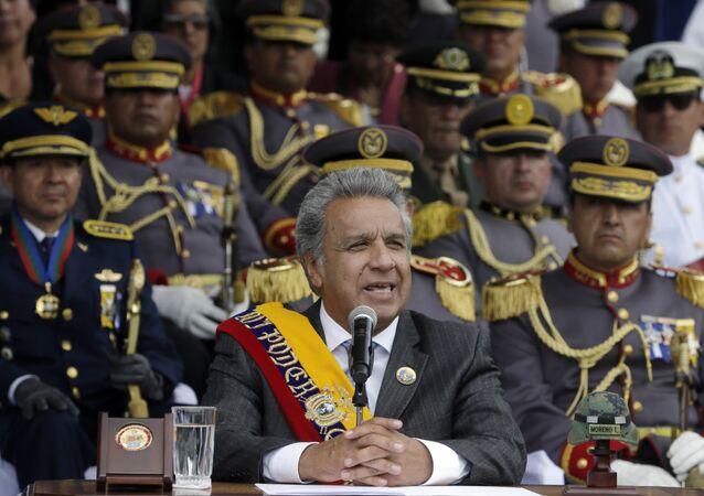 Ekvador Devlet Başkanı Lenin Moreno