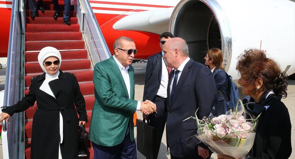Recep Tayyip Erdoğan ve Emine Erdoğan ABD'de