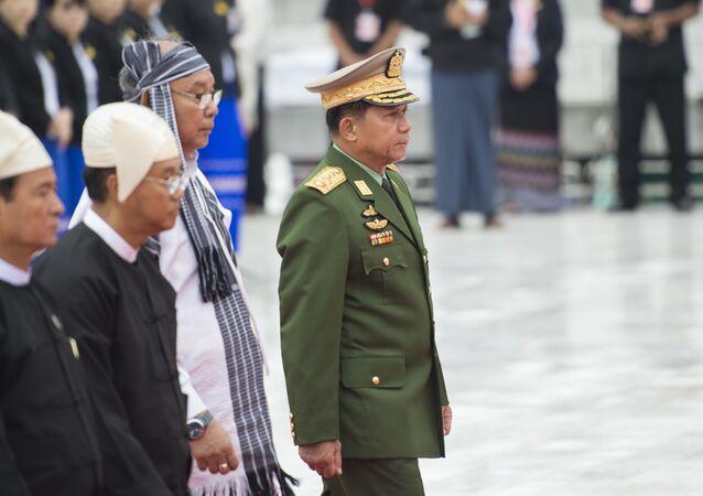 Myanmar Genelkurmay Başkanı Min Aung Hlaing