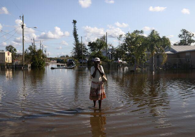Irma kasırgasının etkilediği Florida