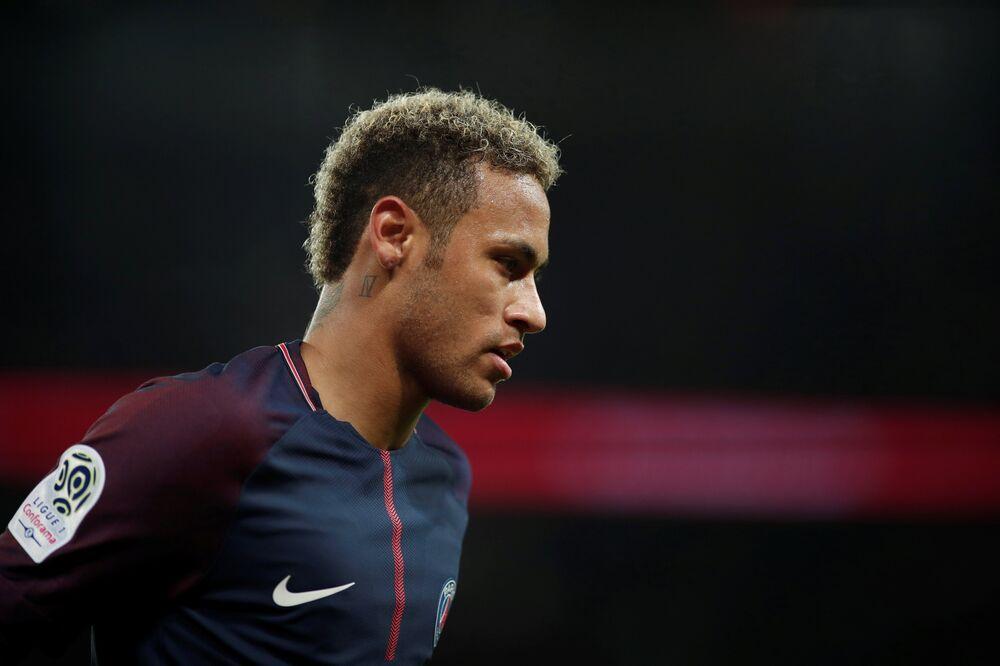 Neymar, PSG-Lyon maçı
