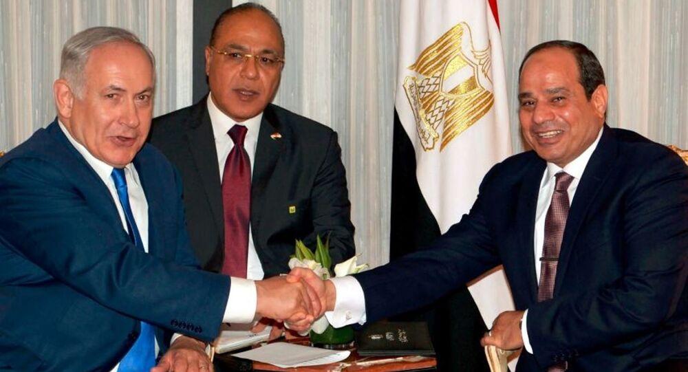 İsrail Başbakanı Benyamin Netanyahu -Mısır Cumhurbaşkanı Abdülfettah el Sisi