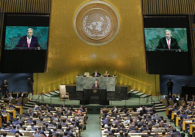 Birleşmiş Milletler Genel Sekreteri Antonio Guterres