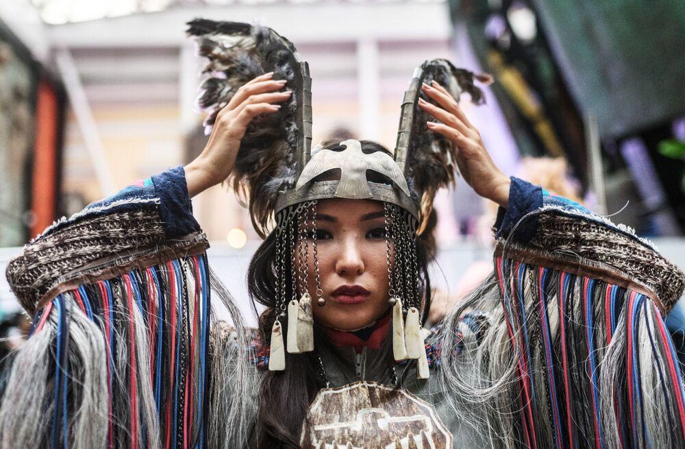 Moskova'da Etnik Kültür Festivali
