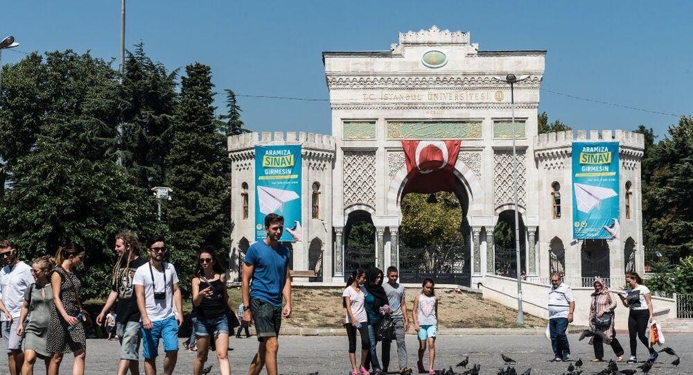 Türk gençler - öğrenci - sınav - üniversite - İstanbul Üniversitesi