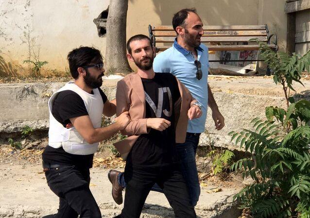 İstanbul Adalet Sarayı önünde kavga