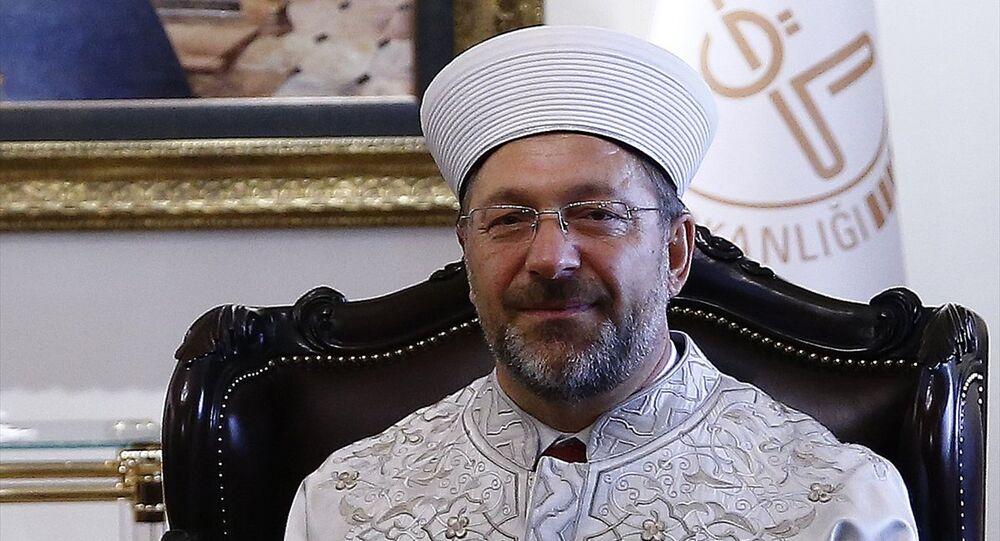 Diyanet İşleri Başkanlığı görevine atanan Prof. Dr. Ali Erbaş