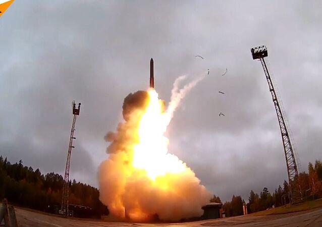 Rus ordusundan kıtalararası balistik füze testi
