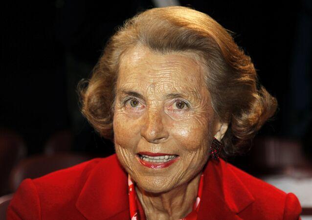 Dünyanın en zengin kadını Liliane Bettencourt