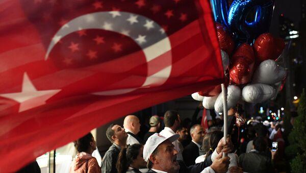 ABD- Türkiye- Bayrak - Sputnik Türkiye