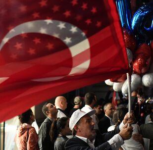 ABD- Türkiye- Bayrak