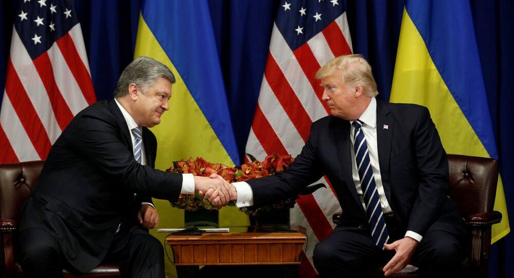 ABD Başkanı Donald Trump- Ukrayna Devlet Başkanı Petro Poroşenko