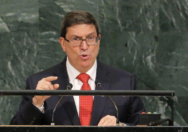 Küba Dışişleri Bakanı Eduardo Rodriguez Parrilla