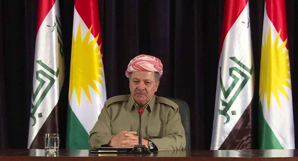 IKBY Başkanı Mesud Barzani