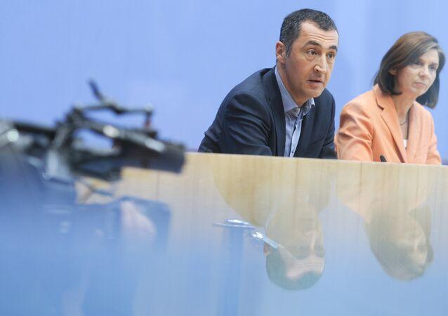 Yeşiller Partisi Eş genel Başkanı Cem Özdemir