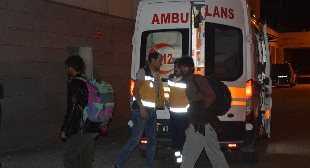 Ağrı'da minibüse ateş açıldı