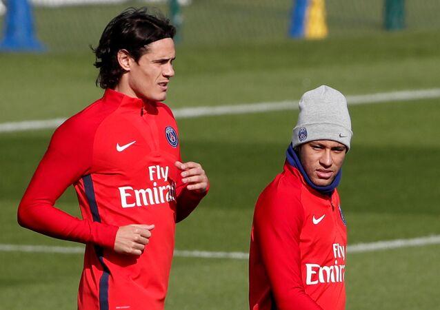 PSG idmanı, Edinson Cavani-Neymar
