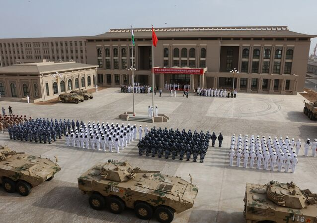 Çin'in Cibuti'deki askeri üssü