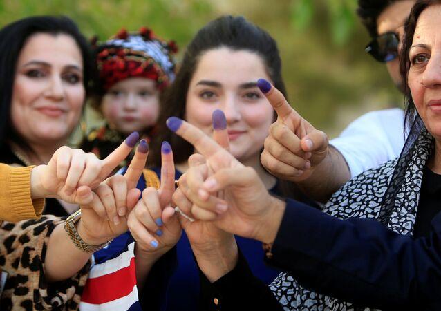 IKBY'deki referandumda kadınlar