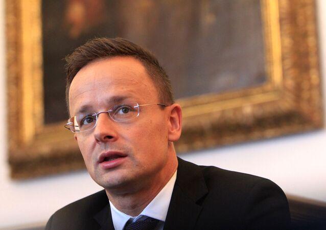 Macaristan Dışişleri Bakanı Peter Szijjarto