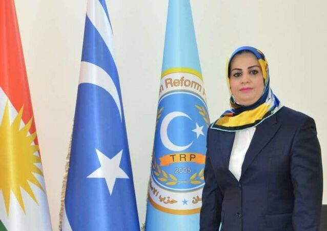 IKBY Referandum Yüksek Konseyi Üyesi Muna Kahveci