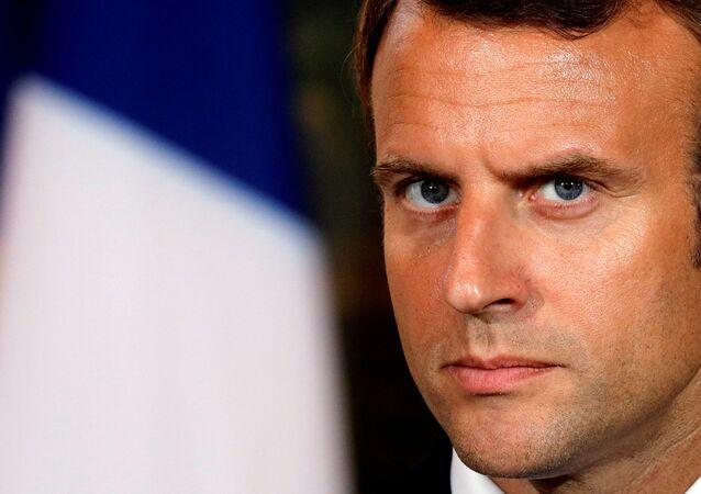 Fransa Cumhurbşakanı Emmanuel Macron