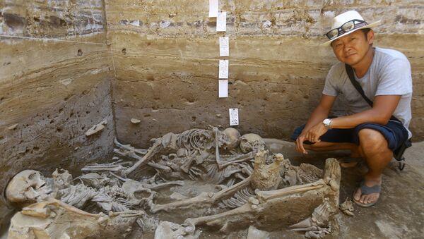 Peru - Lima - Arkeolojik kazı - Sputnik Türkiye