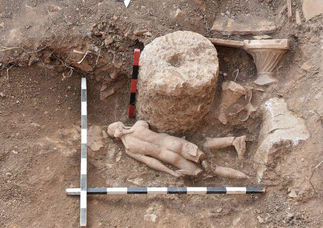 Pisidia Antiokheia Antik Kenti'nde yeni buluntular açığa çıkarıldı