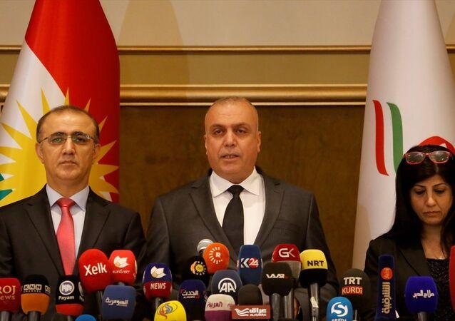 IKBY Bağımsız Yüksek Seçim ve Referandum Komisyonu Başkanı Hındirin Muhammed