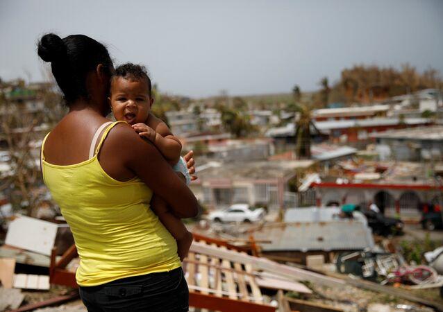 Maria kasırgasının ardından Porto Riko