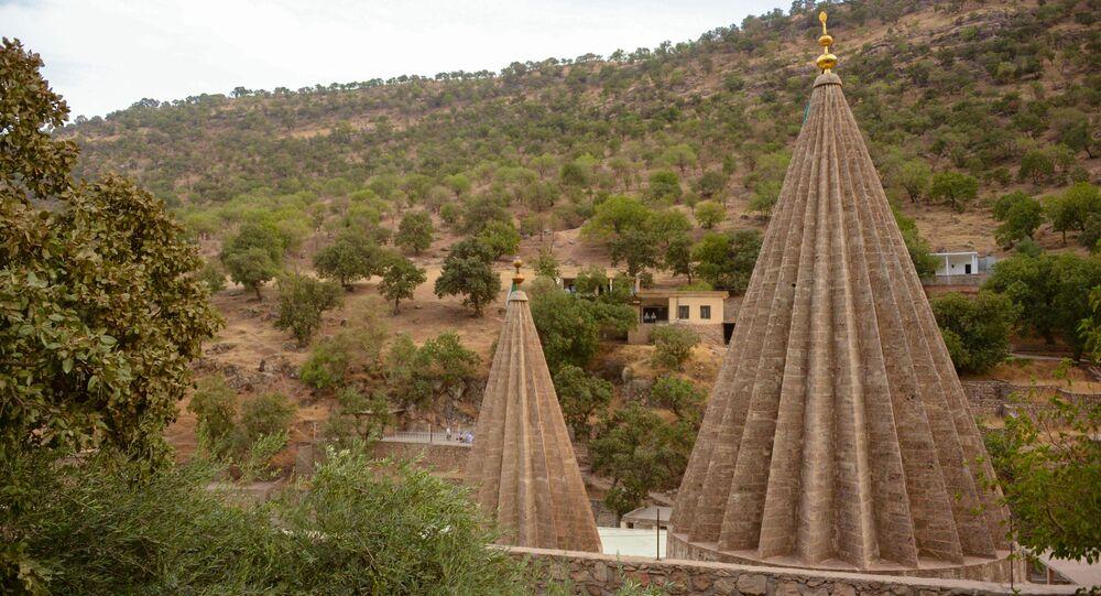 IKBY'deki Laleş tapınağı