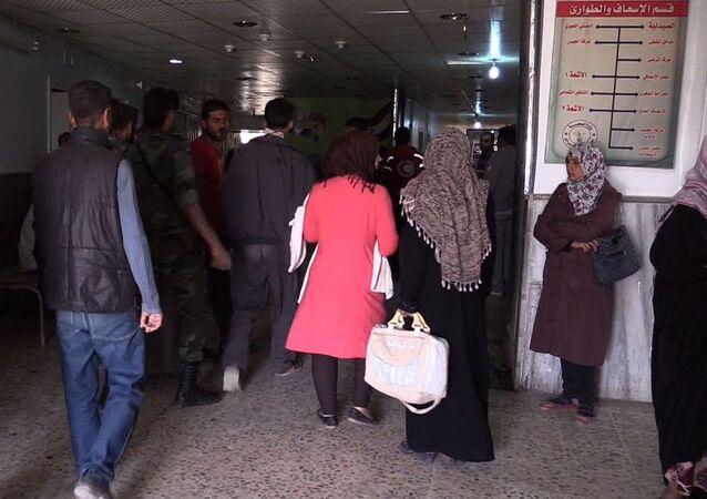 Deyr ez Zor'daki devlet hastanesi