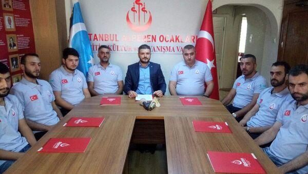 Alperen Ocakları İstanbul İl Başkanı Kürşat Mican - Sputnik Türkiye