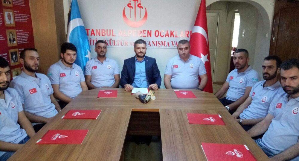 Alperen Ocakları İstanbul İl Başkanı Kürşat Mican