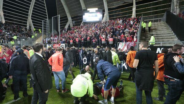 Fransa Ligi'nde Amiens ile Lille maçı - Sputnik Türkiye