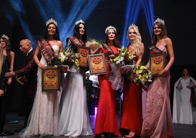 Muğla'nın Bodrum ilçesinde Princess Globe-2017 Güzellik Yarışması gerçekleştirildi. Yarışmanın birincisi, Rusya'dan Anastasia Belskikh oldu.