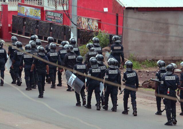 Kamerun polisi
