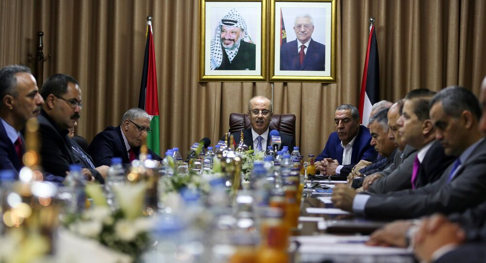 Filistin Başbakanı Rami Hamdallah, Gazze'de