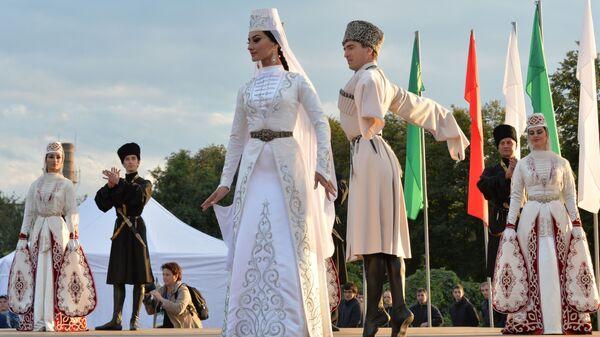 VIII.Kafkasya Halkları Spor ve Kültür Festivali - Sputnik Türkiye