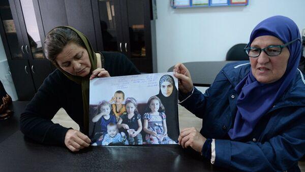 Kızı ve torunları kaybolan Çeçen asıllı Fatima Atagayeva - Sputnik Türkiye