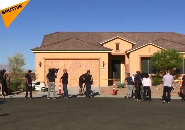 Las Vegas saldırganının evlerinde arama