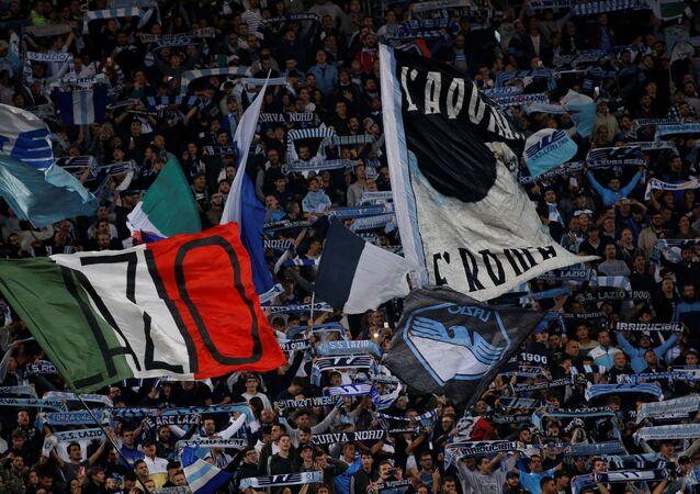 Lazio tribünleri