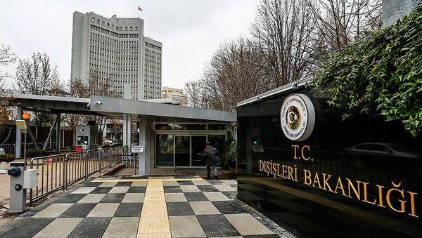 Türkiye Cumhuriyeti Dışişleri Bakanlığı - Sputnik Türkiye